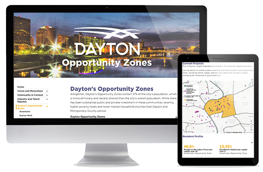 mySidewalk_CITY OF DAYTON LAUNCHES INTERACTIVE OPPORTUNITY ZONE DASHBOARD.