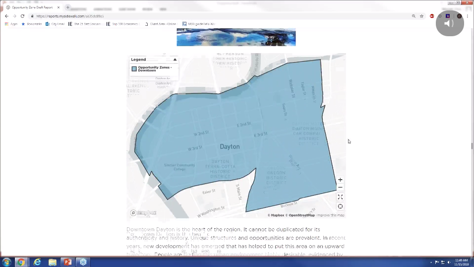 Watch our recent webinar to learn more about how the City of Dayton partnered with mySidewalk to find the data story in their opportunity zones.
